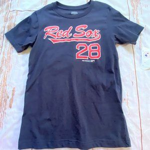MLB Boston Red Sox Martinez #28 childs shirt-8/10